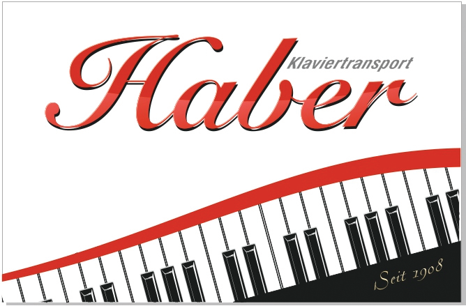 Klaviertransport Haber